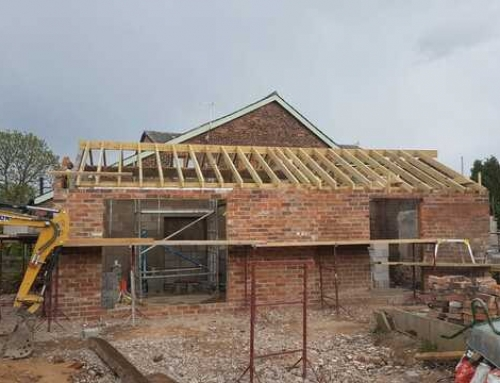 The Leys, Cross Lane Barn Conversion Progress