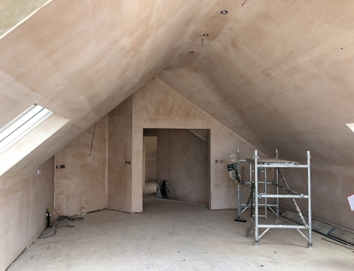 Lookout Point, Rhosneigr – Plastering Complete