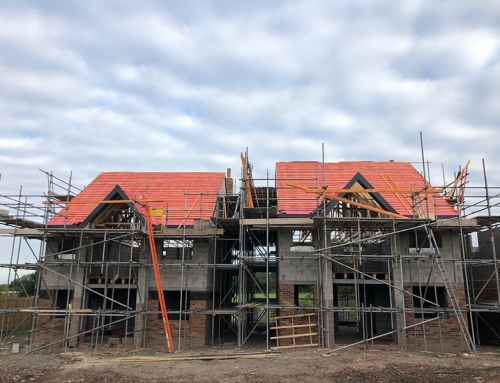 Roofing Implemented on Plots 1 & 2, Chester Road Kelsall