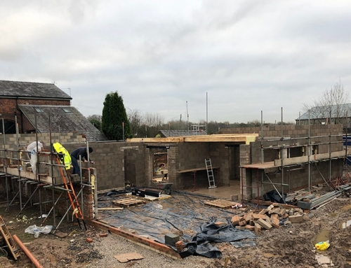 The Leys, Croft New Build Development Update