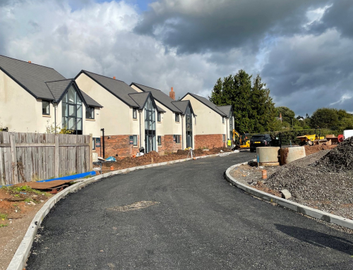 Last few new home at Chester Road, Kelsall